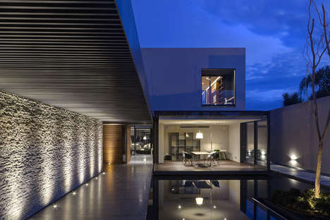 Cool Concrete Dwellings - The GR House Offers Luxurious Comforts