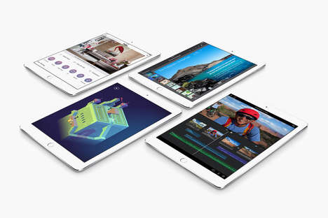 Thin Tablet Upgrades - The Apple iPad Air 2 Utilizes Sophisticated Technology to Fit Everything in