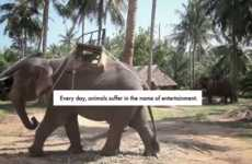 Elephant Tourism Spoofs - 'Authentic Elephant Rides' Reveals the Truth Behind Elephant Rides