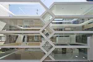The S-House in Tokyo Has Random Staircases and a Transparent Facade