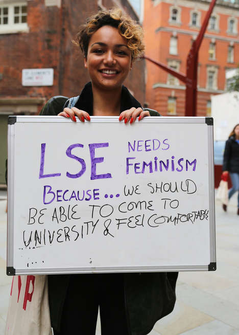 On-Campus Feminism Campaigns - LSE Students Explain Why Feminism Matters