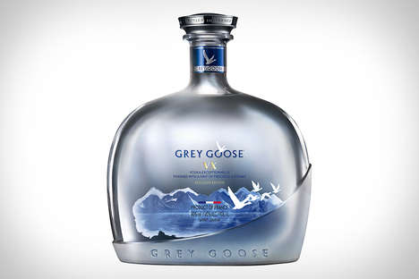 Cognac-Infused Vodka Beverages - The Grey Goose VX Offers a New Experience in an Exclusive Edition