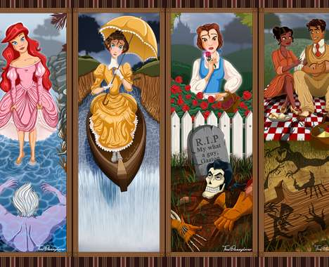 Haunted Disney Princesses
