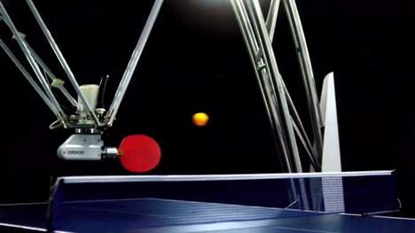 Ping Pong-Playing Robots - This Robot Can Engage In Long Ping Pong Rallies