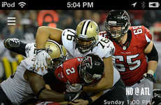 Dedicated Football Apps - The New Orleans Saints App Lets You Stay On Top Of Team News