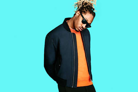 Eclectic Rapper Editorials - Future Stars in MR PORTER's 187th Issue