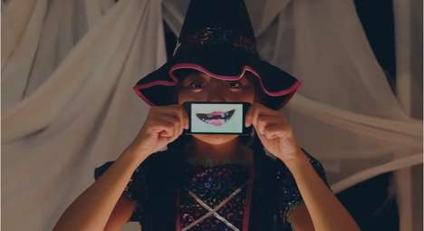 Vocal Halloween Apps - Sainsbury's Voice-Changing App Lets Kids Take Costumes to a New Level