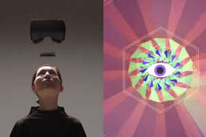 Leap Motion's Collider Moves You Through a Tunnel of Colors & Music