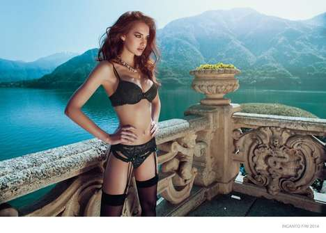 Seductive Paradise Lookbooks - The Incanto Lingerie Collection is Modeled by Iris Kavka