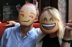 Expressive Emoji Masks - These Emoji Masks Are a Great Way to Express Your True Feelings