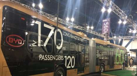 Behemoth Battery Buses - The Lancaster eBus is the World's Largest Battery Electric Vehucle