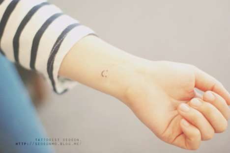 Stylish Mini Tattoos - Tattoo Artist Seoeon Creates Adorable and Whimsical Body Art