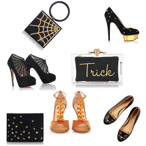 Creepy Chic Couture - The Charlotte Olympia Halloween Collection Will Inspire Fashionable Costumes