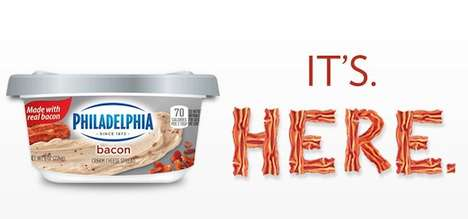 Cream Cheese Bacon Spreads - Philadelphia and Oscar Meyers Releases a Highly Anticipated New Flavor