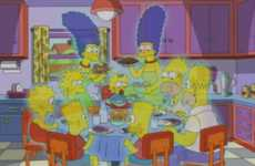 Epic Cartoon Montages - This Year's 'The Simpson Treehouse of Horror' is a Cameo-Fest