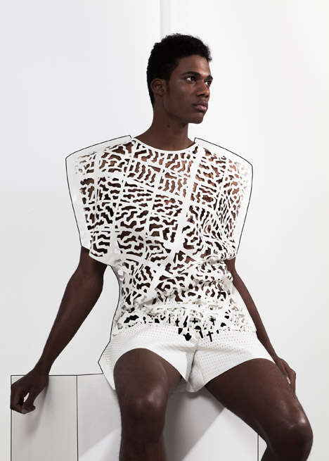 Architectural Garment Collections - Martijn van Strien's 'Contradiction' Features Sharp Silhouettes
