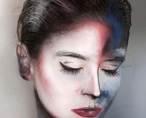 Painting-Like Makeup Looks