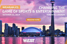Wearable Tech Innovation Conferences - The WEST Conference Featured Sports & Entertainment Wearables