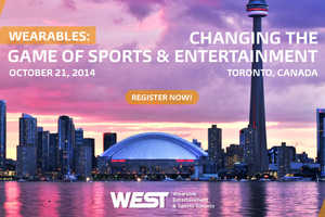 The WEST Conference Featured Sports & Entertainment Wearables