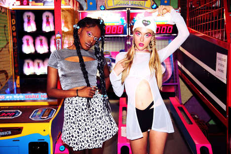 Outrageous Arcade Lookbooks - The American Deadstock Lookbook Proves that Girls Just Wanna Have Fun