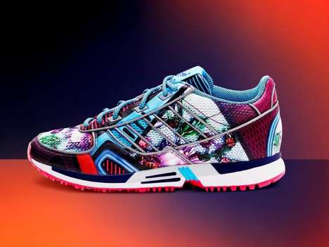 Technicolor Sportswear Collaborations - The Mary Katrantzou adidas Originals Line is Eye-Catching