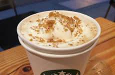 Chestnut Flavored Lattes - Starbucks is Introducing a Chestnut Praline Latte on Their Holiday Menu