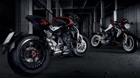 Monstrous Italian Motorbikes - The Agusta Brutale Dragster 800 Blends Style & Performance
