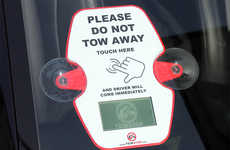 Tow Truck-Alerting Stickers - The TowStop Smart Sticker Helps Nearby Drivers Avoid Car Towing