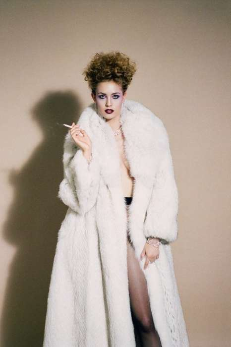 Aggressive Fur Editorials - Nadja Bender Stars in the Document Journal Fall/Winter Issue