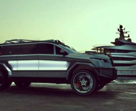 Luxury Armored SUVs