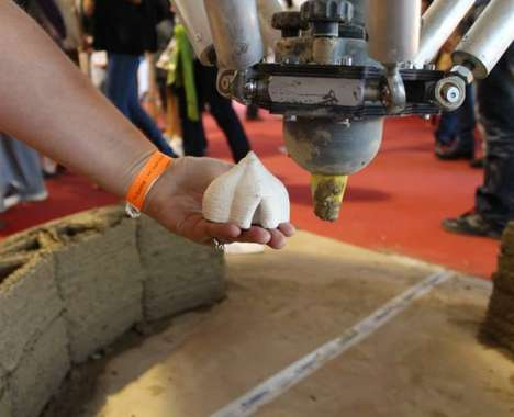 3D-Printed Mud Houses