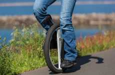 Easy-Riding Unicycles - The Lunicycle is Designed to Make Unicycling Easy