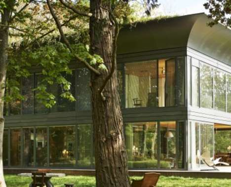 Energy-Generating Prefab Homes