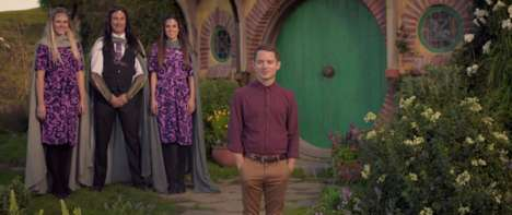 Middle Earth Airline Commercials - Air New Zealand's Flight Safety Video is Inspired by The Hobbit