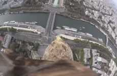 Eagle POV Videos - This Unique Bird's Eye View Shows Off the Sony HDR-AZ1 Action Cam Mini