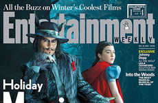 Fairy Tale Magazine Covers - Entertainment Weekly Provides Exclusive Into the Woods Photos