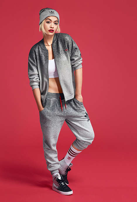 Funky Celebrity Streetwear - The adidas Originals by Rita Ora Collection Combines Comfort and Style