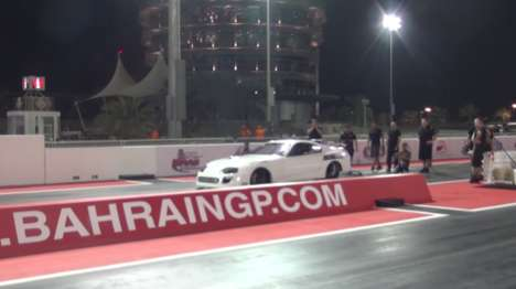 Reimagined Racecars - This Tune-Up Toyota Supra Set A New World Record
