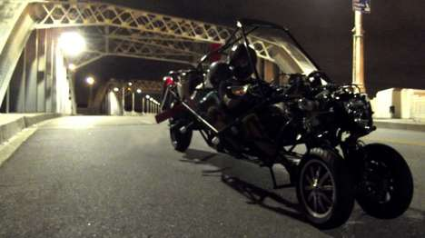 Flying Motorcycles - This Flying Motorcycle is a Cross Between a Motorbike and a Gyrocopter