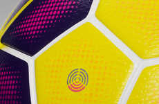Flickering Soccer Balls - The Nike Ordem Hi-Vis Winter Ball Will Be Used in Three Top Leagues