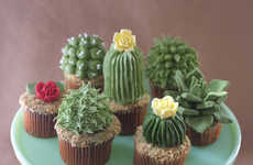 These Cupcakes by Baker Alan Jones-Mann Resemble the Desert Plant Perfectly