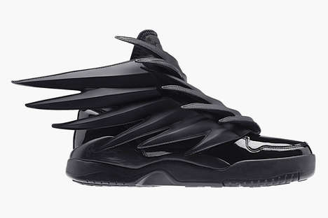 Darkly Dreamy Sneakers - The JS Wings 3.0 by Jeremy Scott for adidas Originals are Fiercely Chic