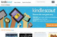 Crowdsourced Book Publishers - Amazon's New Kindle Scout Publishing Program Lets Readers Vote