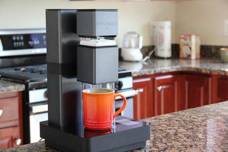 Wi-Fi Coffee Machines - The Bruvelo Smart Coffee Brewer is Like an At-Home Barista