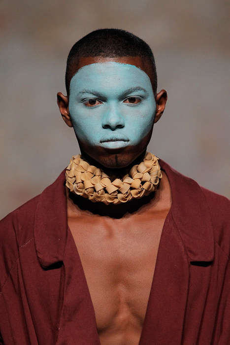 Masked Tribalism Runways - HIBU's Latest Collection Embraces a Nomadic Style Inspiration