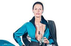 Modern Woman Editorials - Caroline Winberg Stars in Elle Sweden's November Issue