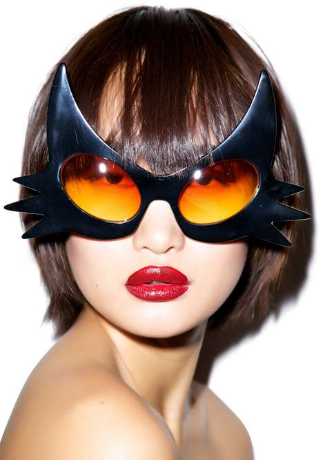 Haute Halloween Shades - These Cat Glasses are the Perfect Last-Minute Halloween Accessory