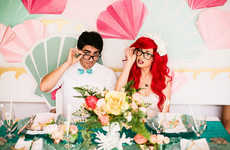Disney Wedding Cosplays - This Little Mermaid Wedding Theme References the Popular Disney Film