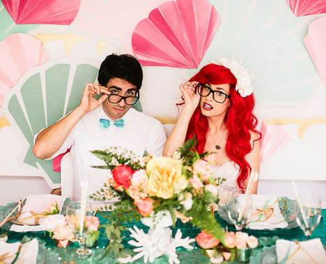 Disney Wedding Cosplays