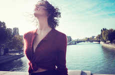 Chic Canal Photoshoots - Audrey Hepburn's Granddaughter Emma Ferrer Stars in Yahoo Style